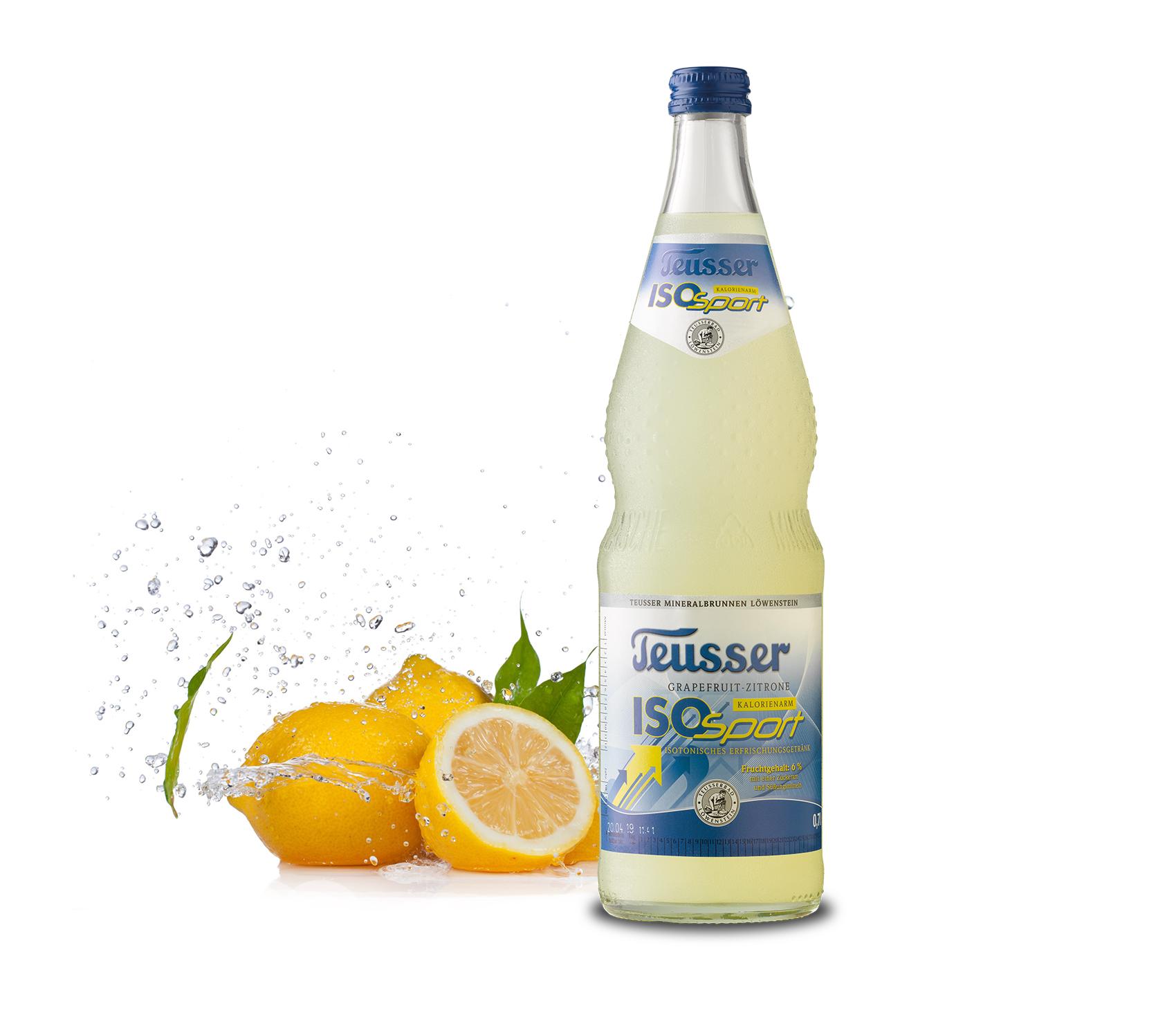 ISO Sport Grapefruit-Zitrone