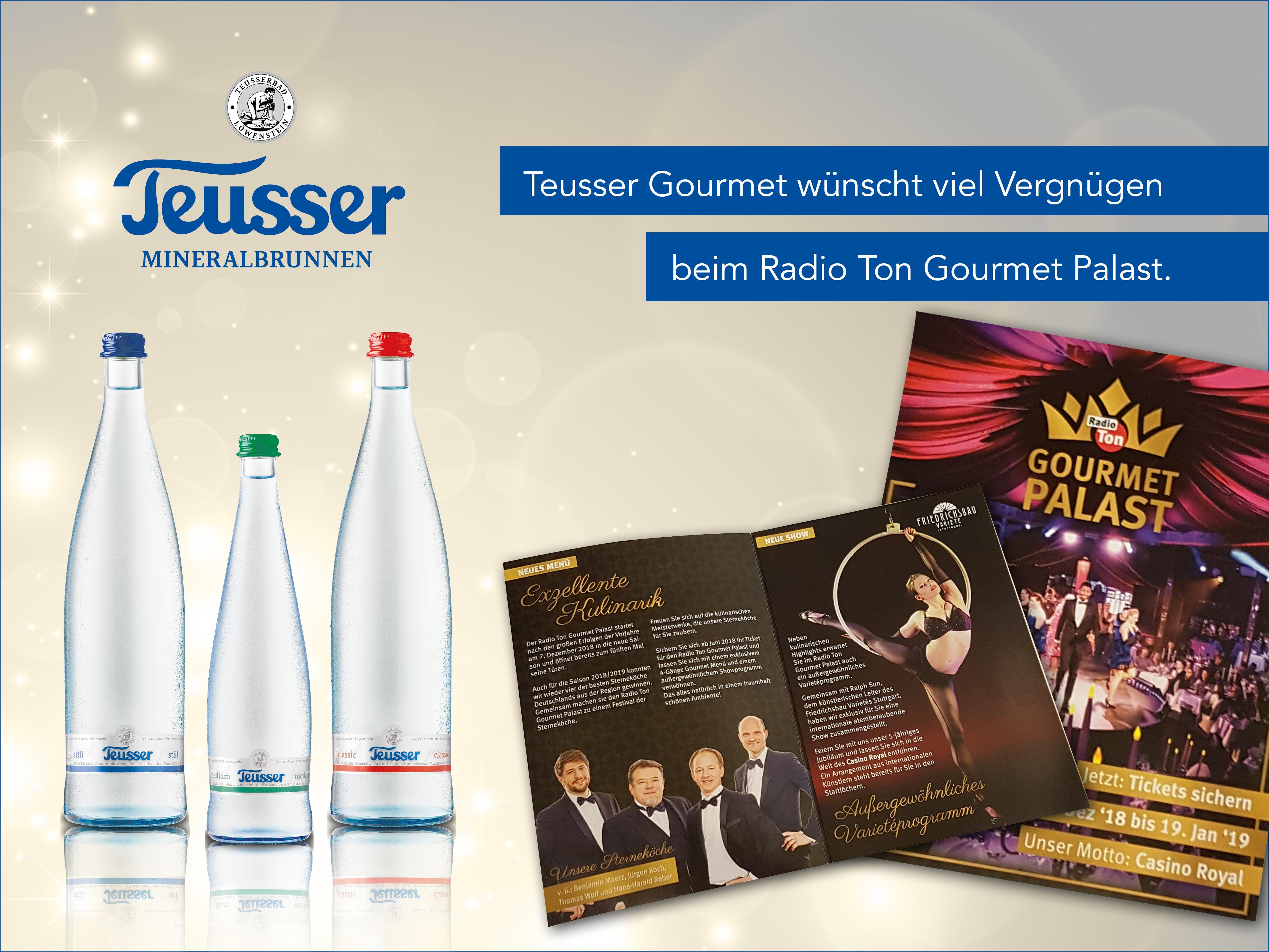 Radio Ton Gourmet Palast Saison 2018/2019